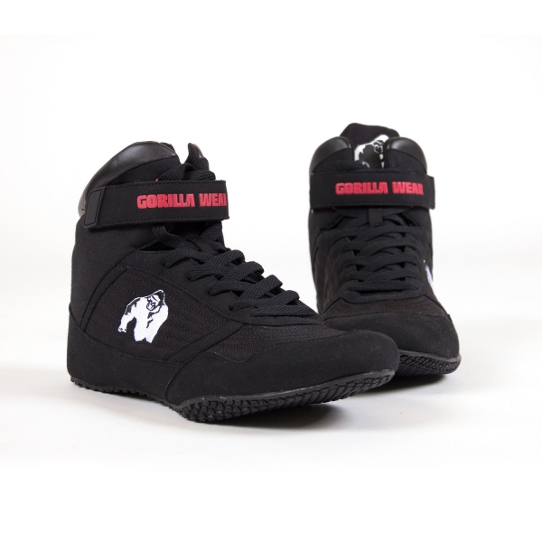Gorilla Wear High Tops Black Gorilla Wear Norge