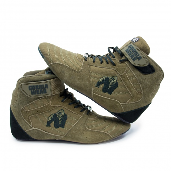 Perry High Tops Pro Army Green Gorilla Wear Norge
