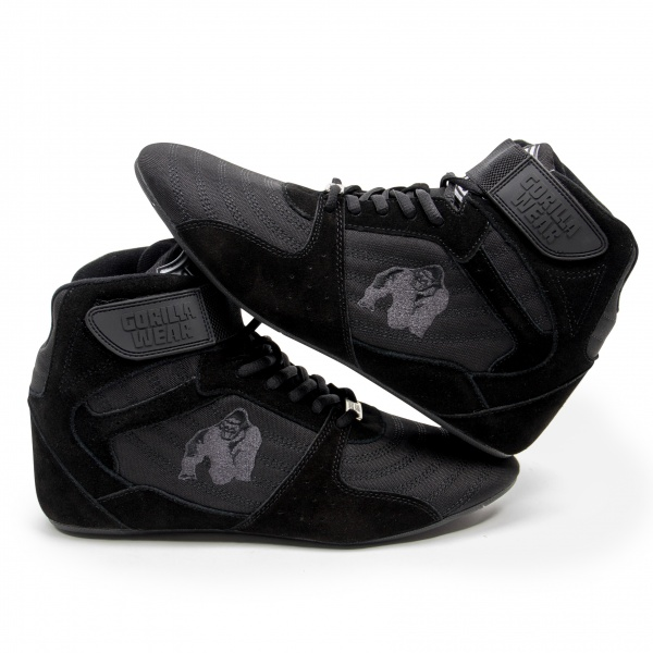 Perry High Tops Pro BlackBlack Gorilla Wear Norge