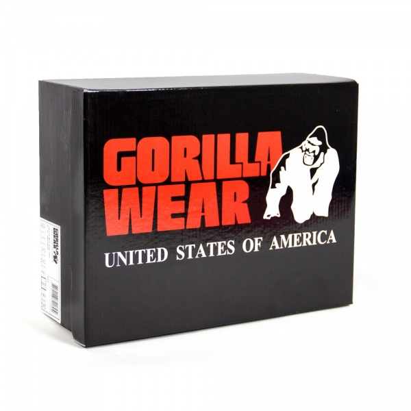 Gorilla Wear High Tops Red Gorilla Wear Norge Gorilla